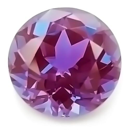 Chatham round alexandrite