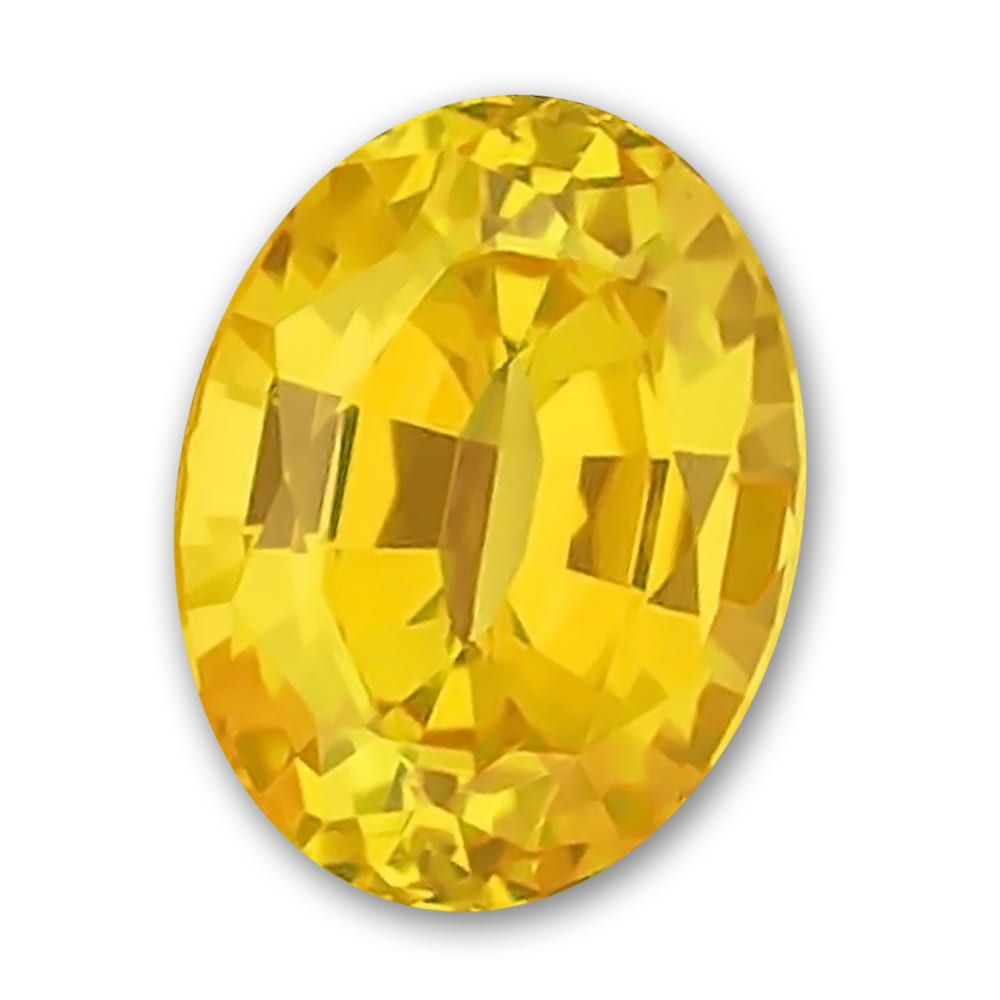 Chatham Oval Yellow Sapphire