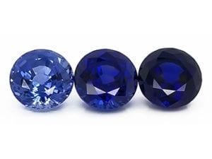Chatham blue sapphire tones