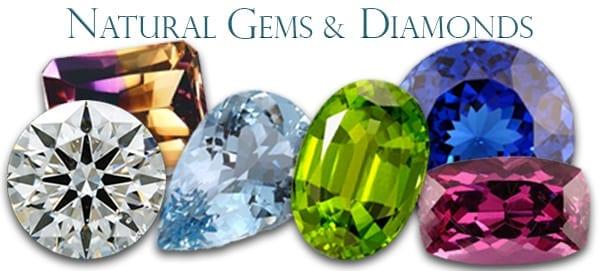 Mined Diamonds and Gems