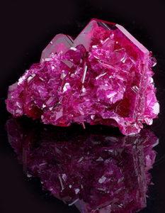 Chatham Pink Sapphire Crystal