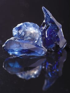 Chatham Blue Sapphire Crystal