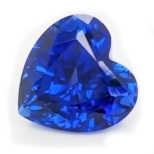 Chatham Heart Blue Sapphire