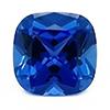 Chatham Square Cushion Blue Sapphire