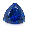 Chatham Trillion Blue Sapphire