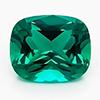 Chatham Antique Cushion Cut Emerald