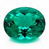 Chatham Oval Emerald
