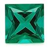 Chatham Princess Cut Emerald