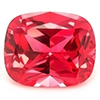 Chatham Antique Cushion Cut Padparadscha