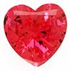 Chatham Heart Padparadscha