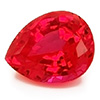 Chatham Pear Shaped Padparadscha