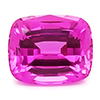 Chatham Antique Cushion Cut Pink Sapphire