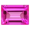 Chatham Baguette Pink Sapphire