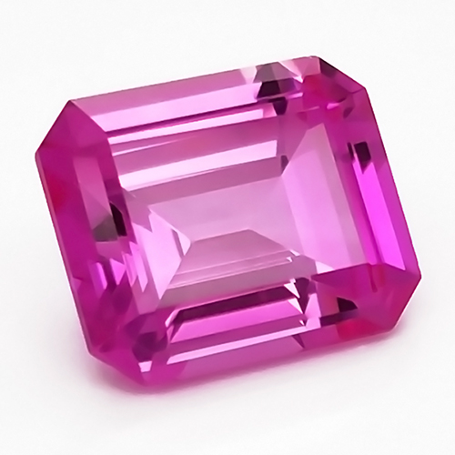 Chatham Octagon Pink Sapphires