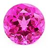 Chatham Round Pink Sapphire