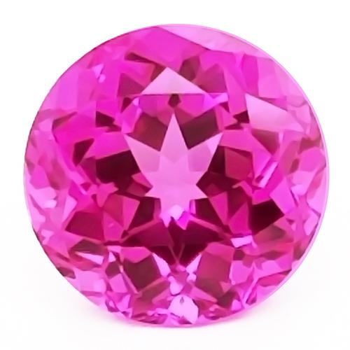Chatham Round Pink Sapphires
