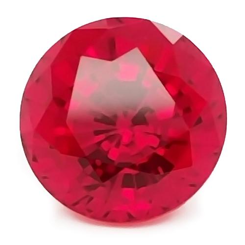 Chatham Round Rubies