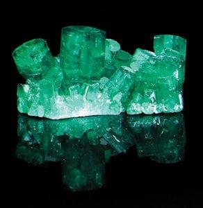 Chatham emerald crystals