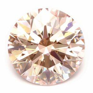 lab-grown pink diamond