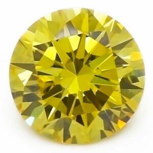 lab-grown yellow diamond